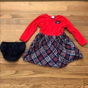Gymboree 3T holiday dress